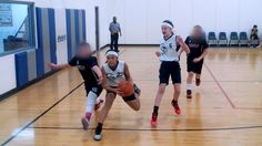 Fifth-grade girls basketball team holds its own in all-boys league