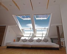 Nice Schlafzimmer Ideen Unterm Dach that you must know, Youre in good company if you?re looking for Schlafzimmer Ideen Unterm Dach Attic Bedroom Designs, Attic Bedrooms, Attic Renovation, Attic Remodel, Loft Room, Bedroom Loft, Bedroom Wardrobe, Attic Spaces, Home And Deco