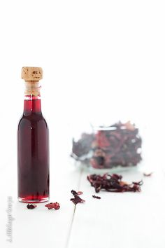 Hibiscus Syrup(floral cordial class)