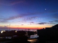 Before the Dawn Pic taken at Jungdongjin, Korea