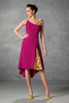 Vestidos de Madrina Esthefan y Fiesta 2018 - Creando Tendencia -  Entrenovias Abito Elegante c28785f86ab