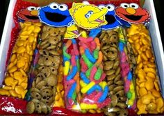 Elmo & Friends Snack Packs by SweetLotusTreats on Etsy