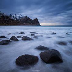 Unstad Beach – Vestvågøy, Lofoten Islands, Norway
