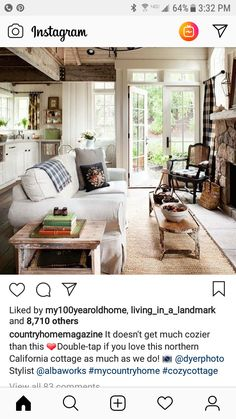 Cozy Cottage, Cottage Style, Inspired Homes, Northern California, This Is Us, Space, Outdoor Decor, Home Decor, Chalet Style