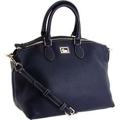 dooney & bourke - dillen 2 satchel in cobalt