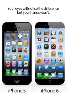 iPhone 6 design – the concept of an edge-to-edge screen and quad-core processor  After the launch of the iPhone 6, Apple will choose to present the device compared to previous versions and will highlight the new updates, including design, specifications and more.