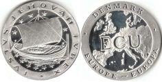 1992 Denmark ECU coin  Do you see Jehovah's name?