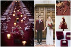 We take a look at the new Pantone Colour of the Year 2015 Marsala and get inspiration for how to apply it to your wedding palette.