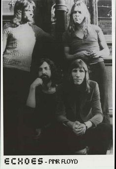 Pink Floyd Echoes Band Portrait Poster