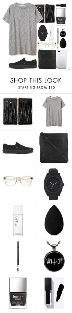 """""""not so casual date"""" by shotstyle ❤ liked on Polyvore featuring Bobbi Brown Cosmetics, Vans, Rick Owens, Nixon, NARS Cosmetics, beautyblender and Christian Dior"""