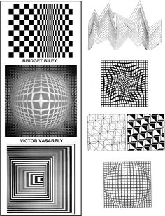 Op art lesson from Incredible @R T Department