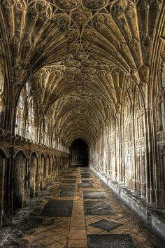 Gloucester Cathedral - Cloister England (used in Harry Potter)