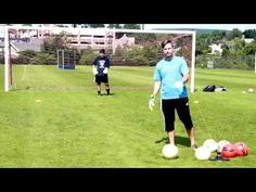 ▶ Soccer Goalie Drills: Reaction Training, Angles, and the Ready Position - YouTube