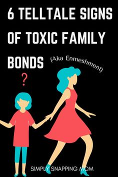 Learn the signs of enmeshed parenting (or toxic parenting) nd how to have healthy boundaries with your children. Toxic Family, Family Bonding, Parenting Articles, Mom Advice, Mom Humor, Children, Kids, Learning, Young Children