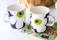Corporate Identity Design, Project Ideas, Projects, Marimekko, Tea Sets, Print Ads, Surface Pattern, Mug Cup, Teacups