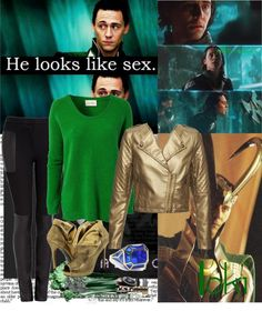 """Loki!"" by mrskolmikaelson ❤ liked on Polyvore"