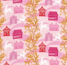 Anna Maria Horner Little Folks Forest Hills Berry - Voile [FS-VAH03-Berry] - $9.95 : Pink Chalk Fabrics is your online source for modern quilting cottons and sewing patterns., Cloth, Pattern + Tool for Modern Sewists