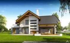 projekt domu, projekty domów, projekt domu jednorodzinnego, projekt domu z poddaszem