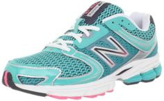Amazon.com: New Balance Women's W770 Running Shoe,Green/Grey,9.5 B US: Shoes