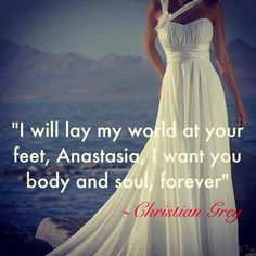Christian grey... I want a love like theirs