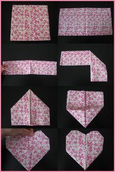 Since I'm folding the napkins myself, I think I may do this!
