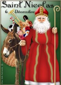 December 6, 2012: Happy St. Nicholas Day! Did you know one Dutch tradition is to fill the shoes by the fire place with salty black licorice?