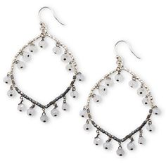 Moonstone Magic Earrings at http://www.arhausjewels.com/product/ea1160/earrings. $88.00 #arhausjewels #earrings. Designed by Nicole Ardis jewelry