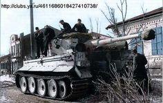 "Tiger tank. SS-Division ""Reich"" (mot.)"