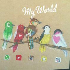 My World, Color, Colour, Colors