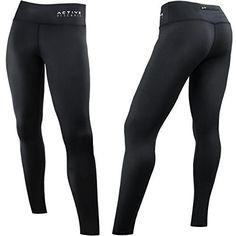 Active Research Womens Compression Pants  Best Leggings for Running Yoga Crossfit Training  Fitness  FullLength Athletic Tights w Hidden Pocket  XL ** Details can be found by clicking on the image.