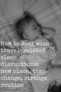 How to Deal with Travel Related Sleep Disruptions