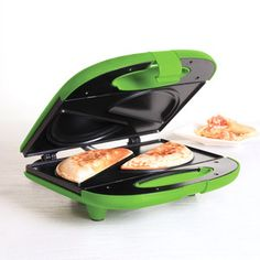 It's funny cause we make them by hand...and they are pre-tty easy----Empanada Maker 2 Green, $16, now featured on Fab.