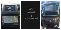 Toyota Highlander GPS bluetooth y tablero central Collage @Toyota USA