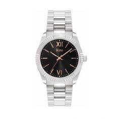 Γυναικείο luxury & καθημερινό ρολόι JCou JU20001-4 Orialis με μαύρο καντράν και ατσάλινο μπρασελέ   Γυναικεία ρολόγια JCou ΤΣΑΛΔΑΡΗΣ στο Χαλάνδρι #jcou #Orialis #μπρασελε #tsaldaris Michael Kors Watch, Omega Watch, Watches, Accessories, Fashion, Wrist Watches, Moda, Wristwatches, Fashion Styles