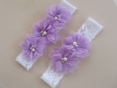 Bridal Garter Wedding Garter Set Toss Garter by nanarosedesigns, $18.00