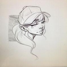 WEBSTA @ ericanthonyj - 5 min morning doodle.⋅#myart #art #illustration #illustrator #drawing #instaart #instagood #sketchbook #sketch #painting #graffiti #cute #artist #stuttgart #creative_instaarts #patreon #artscrowds #artcomplex #artsbeautifulx #artistic_nation #artsupporting #arts_gallery #arts_help #artzspiration