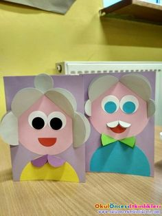 Grab some paint and googly eyes to transform a cardboard tube into a cute and fun elephant craft. Recycled crafts don't get any better than this! Recycled Crafts, Diy And Crafts, Arts And Crafts, Paper Crafts, Grandparents Day Crafts, Fathers Day Crafts, Preschool Crafts, Crafts For Kids, Preschool Family