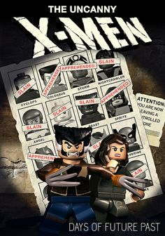 Lego X-Men:Days of Future Past
