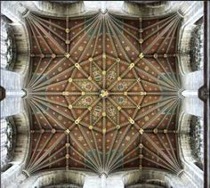 This is a detail of the 13th century wooden ceiling of Peterborough cathedral, UK. Hasselblatt Photography  The wooden ceiling was restored by the specialist company Hugh Harrison