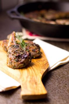 ... herbs and garlic, pan seared to perfection. Quick and easy gourmet