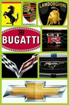 Car logo's
