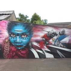 Dale Grimshaw ~ A close up of a piece that i finished off in Walsall, UK