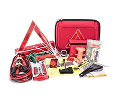 Orion Motor Tech 110-Piece Roadside Assistance Auto Emergency Kit with 8ft Jumper Cables(8gauge), First Aid Kit, Foldable Triangle, Pliers, Bungee Cord, Socket Set, Adapter Set, etc.. For product info go to:  https://www.caraccessoriesonlinemarket.com/orion-motor-tech-110-piece-roadside-assistance-auto-emergency-kit-with-8ft-jumper-cables8gauge-first-aid-kit-foldable-triangle-pliers-bungee-cord-socket-set-adapter-set-etc/