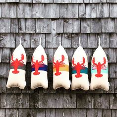 Maine Lobster Buoy Pillow. gifts under 50. gift by CobaltSkyStudio