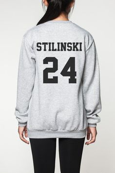 Stiles Stilinski shirt sweater women sweatshirt by OnemoreToddler