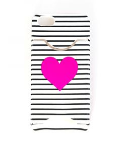 Ban.do iPhone 5/5s with Card Slot Case - Stripe with Heart