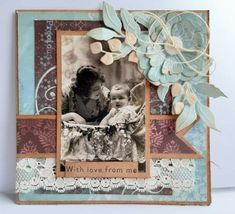 Heritage Scrapbooking, Baby Cards, I Card, The Creator, Layout, Love, Frame, Pictures, Inspiration