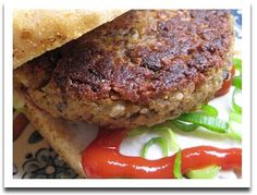 Delicious homemade veggie burgers