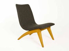 Vintage Easy Chair by G. van Os for van Os Culemborg, 1950s