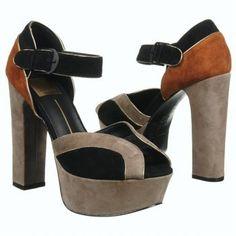 dolce vita Babette Shoes (Black/Grey/Cognac) - Women's Shoes - 9.0 M